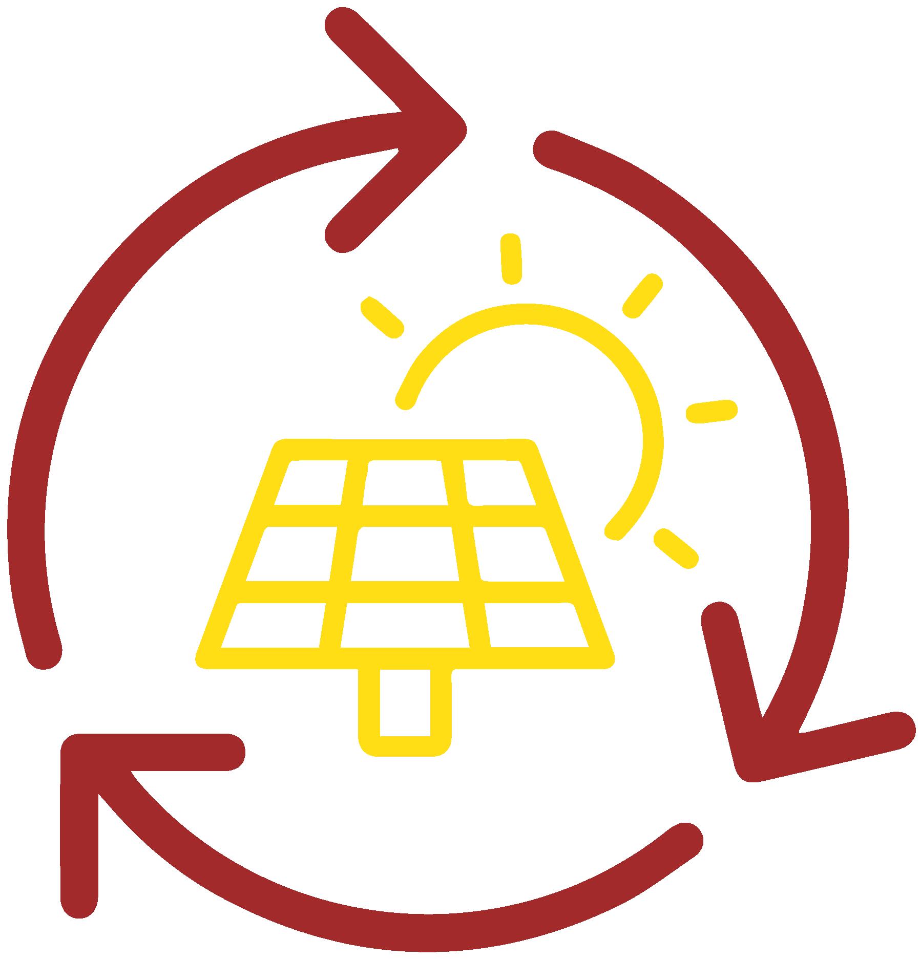 Sistema de produção de energia através dos painéis fotovoltaicos